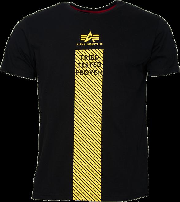 Alpha Industries Tričko Safety Line T černé 3XL