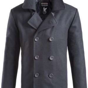 Surplus Kabát Pea Coat modrá tmavě (navy) M