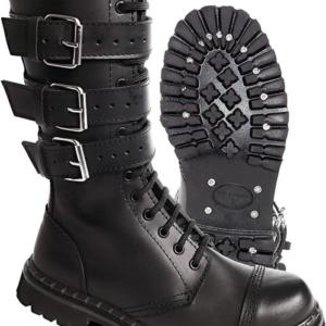 Brandit Boty Phantom Boots se sponami černé 47 [12]