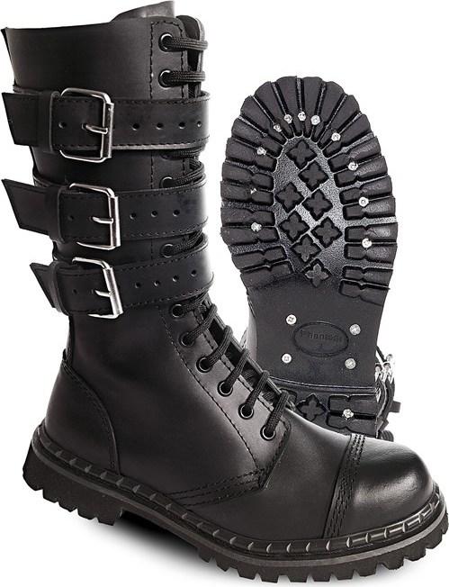 Brandit Boty Phantom Boots se sponami černé 12