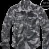 Brandit Košile Vintage Shirt Longsleeve 1/1 grey camo 7XL