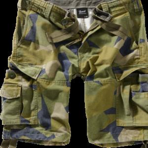 Brandit Kalhoty krátké Vintage Classic Shorts švédská M90 7XL