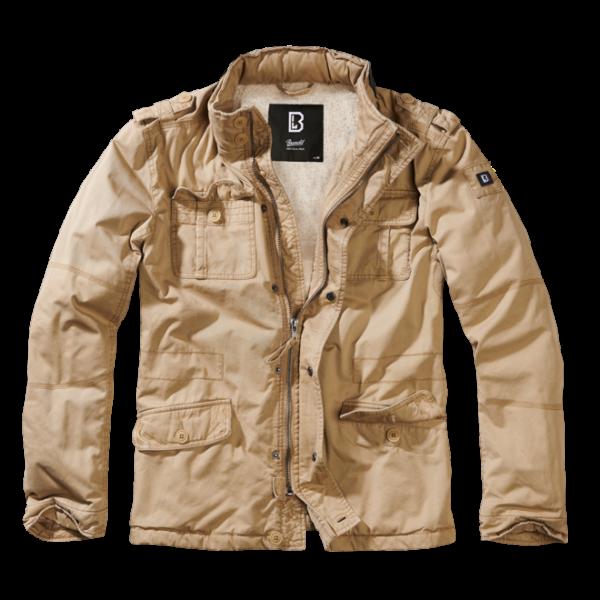 Brandit Bunda Britannia Winter Jacket camel M
