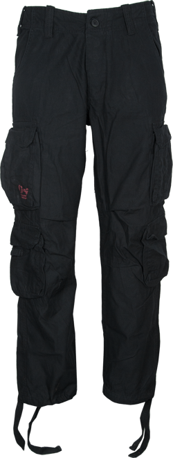 Surplus Kalhoty Airborne Vintage černé XL