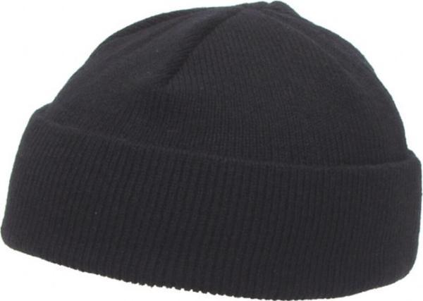 Čepice Watch Cap krátká černá