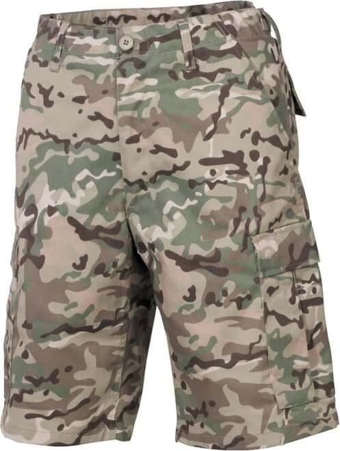 Kalhoty krátké BDU operation camo XXL
