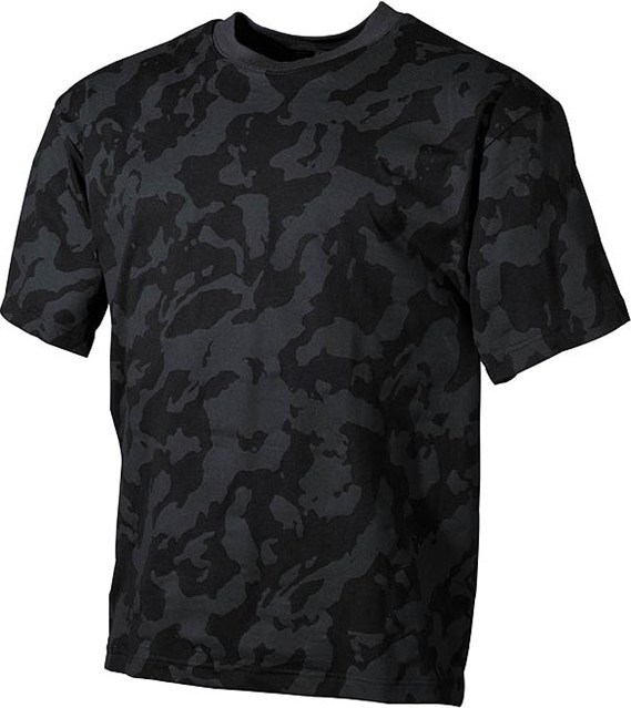 Tričko US T-Shirt nightcamo 5XL
