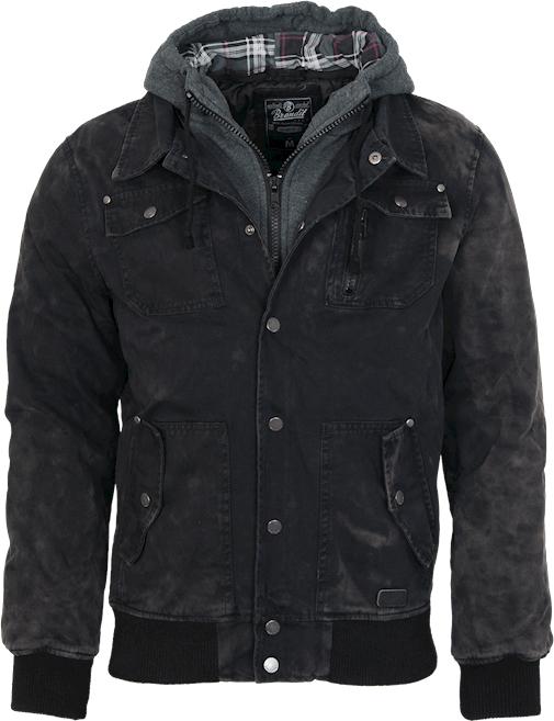 Brandit Bunda Dayton Jacket černá L
