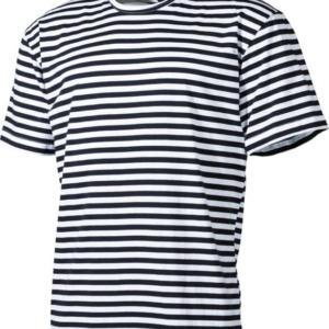 Tričko námořnické ruské letní s kr.rukávem MFH modro   bílé 6XL