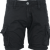 Alpha Industries Kalhoty krátké Crew Short černé 30