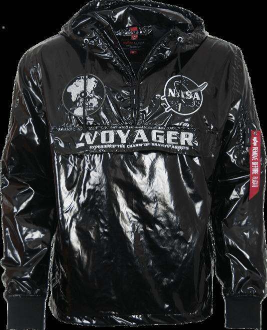 Alpha Industries Bunda Voyager NASA Anorak černá XL