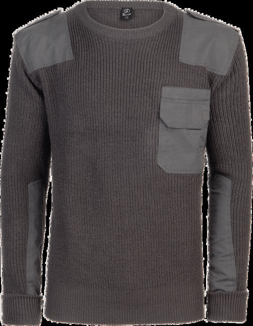 Brandit Pulovr BW Pullover antracitový 5XL [64]