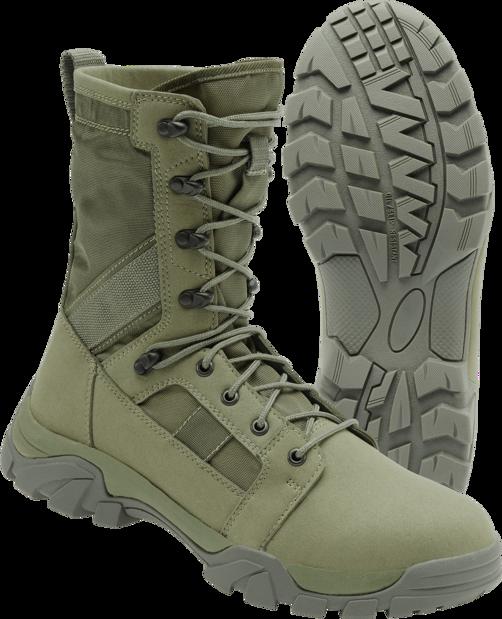 Brandit Boty Defense Boot olivové 47 [12]