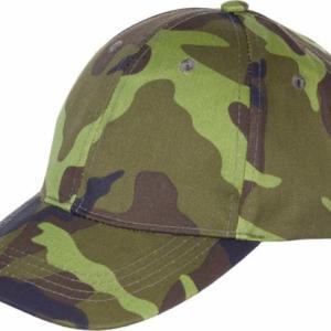 Čepice Baseball Cap dětská vz. 95 zelený