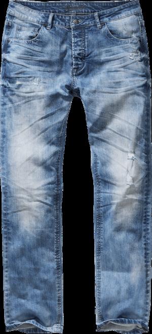 Brandit Kalhoty Will Denim Jeans denim blue 36/36