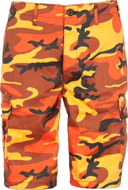 Kalhoty krátké BDU-MMB orangecamo XXL
