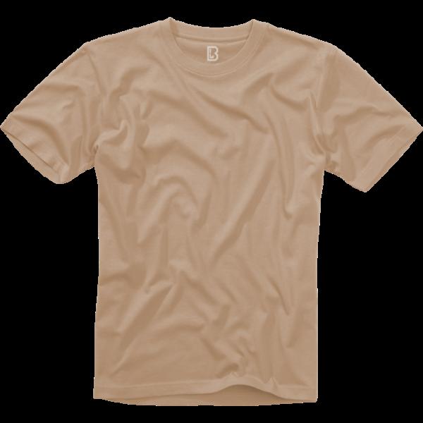 Tričko US T-Shirt BRANDIT béžové 7XL