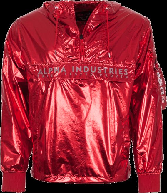 Alpha Industries Bunda Glossy Anorak speed red L