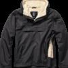 Brandit Bunda Windbreaker Sherpa černá 3XL