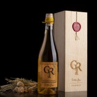 Piálek & Jäger Chardonnay Grand reserva No.4 ORANGE Pozdní sběr 2015 0